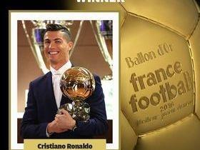 Cristiano Ronaldo conquista sua quarta Bola de Ouro