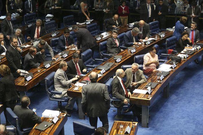Votação da PEC do Teto  (Crédito: Agência Senado)