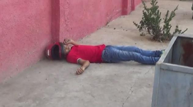 Corpo do adolescente Willame Diego (Crédito: Rede Meio Norte)