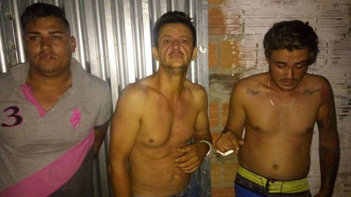 Acusados re roubar joalheria em Caxias, no Maranhão (Crédito: Divulgação)
