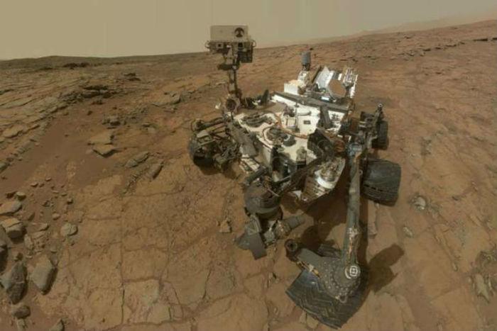 Nasa encontro boro sob superfície de antigo lago de Marte
