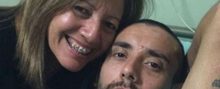 """Mãe de Alan Ruschel revê o filho no hospital: 'Milagre de Deus"""""""