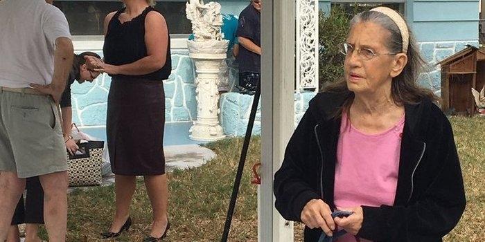 Vizinhos compram casa para idosa que foi despejada