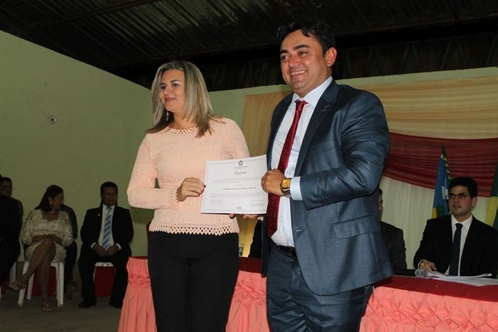 Márcio Alencar e Hermilinda Gomes são diplomados prefeito e vice - Imagem 41