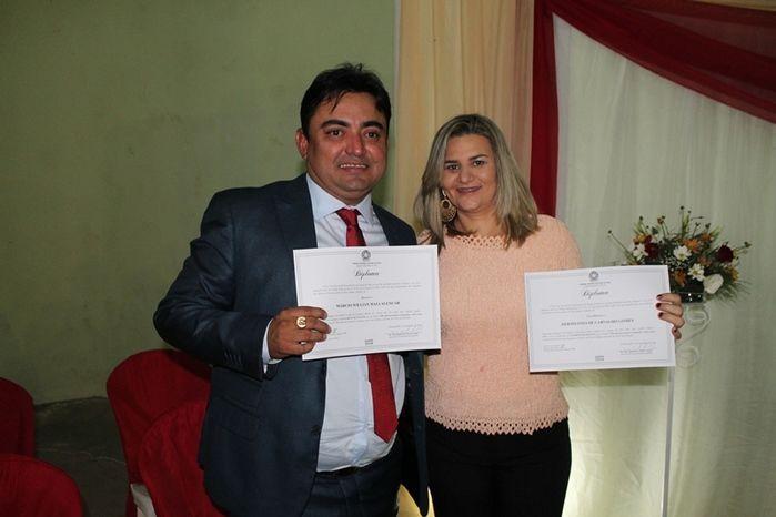Márcio Alencar e Hermilinda Gomes são diplomados prefeito e vice - Imagem 43