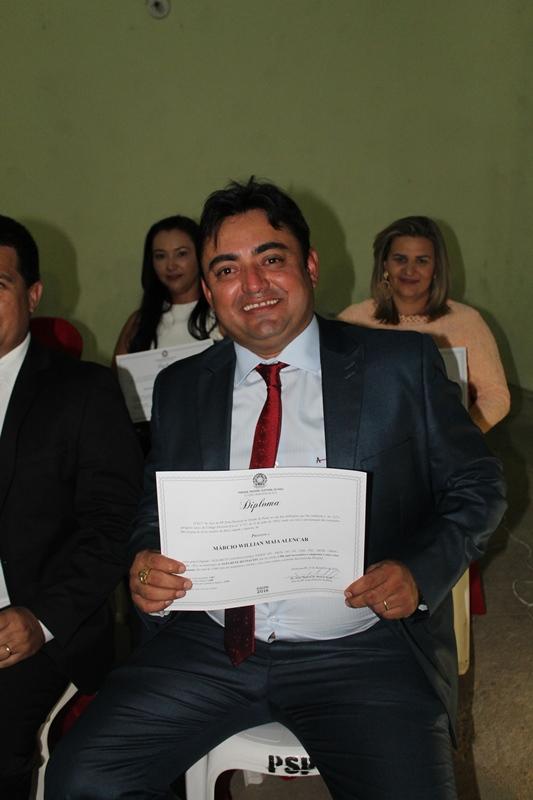 Márcio Alencar e Hermilinda Gomes são diplomados prefeito e vice - Imagem 46