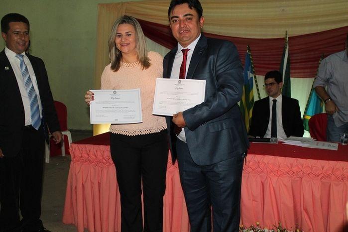 Márcio Alencar e Hermilinda Gomes são diplomados prefeito e vice - Imagem 42