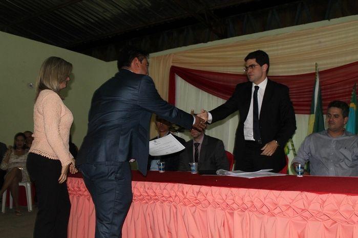 Márcio Alencar e Hermilinda Gomes são diplomados prefeito e vice - Imagem 36
