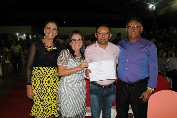 Márcio Alencar e Hermilinda Gomes são diplomados prefeito e vice - Imagem 59