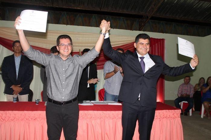 Márcio Alencar e Hermilinda Gomes são diplomados prefeito e vice - Imagem 48