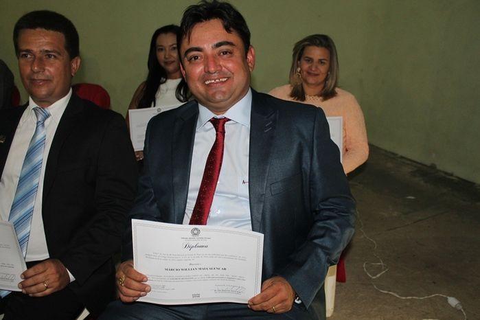 Márcio Alencar e Hermilinda Gomes são diplomados prefeito e vice - Imagem 45