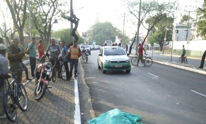 Local onde ocorreu o acidente (Crédito: Reprodução)