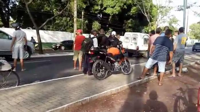 Veículo em que seguia Mailson Rodrigues de Sousa (Crédito: Rede Meio Norte)