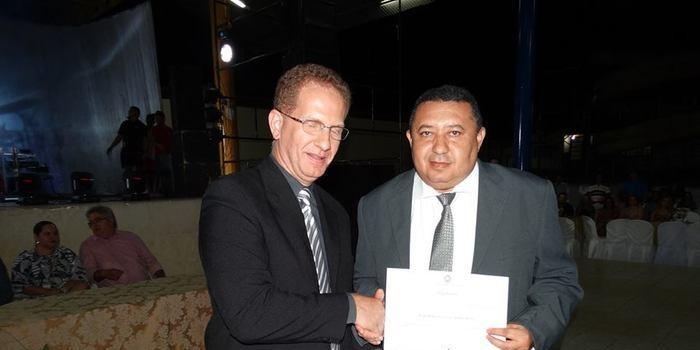 Prefeito Reeleito Aldemar Neto é diplomado em Oeiras