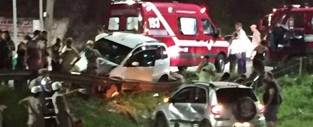 Criança é lançada em córrego após acidente de trânsito em GO
