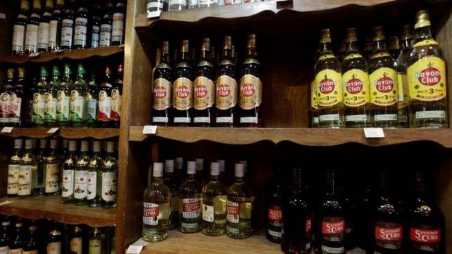 O rum cubano é uma das bebidas mais populares da República Tcheca (Crédito: Reuters)