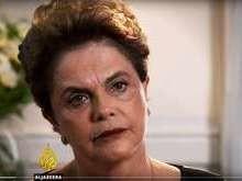Dilma chama Temer de traidor e se irrita com pergunta