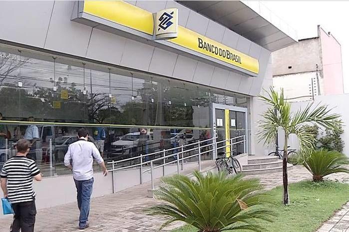 Agência do Banco do Brasil, no bairro São Cristovão (Crédito: Rede Meio Norte)