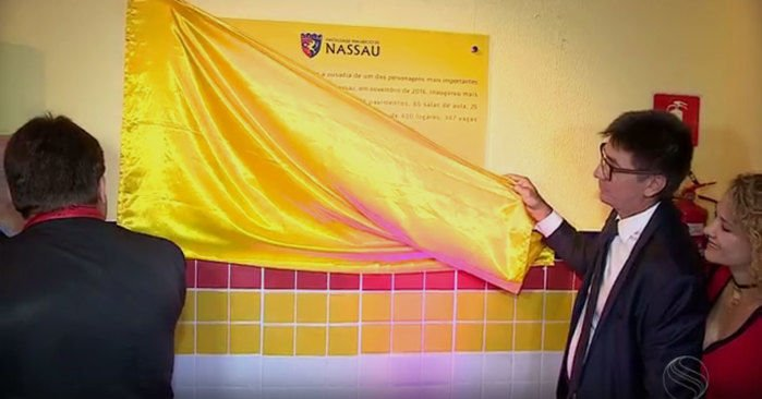 Janguiê Diniz inaugura campus da Maurício de Nassau em Aracaju (Crédito: Reprodução)