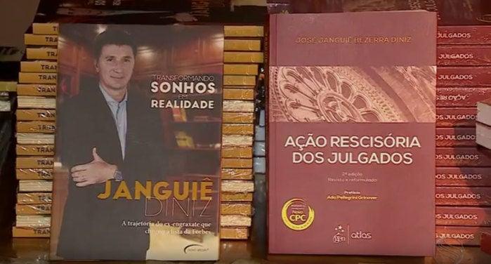 Janguiê Diniz lança livros (Crédito: Reprodução)