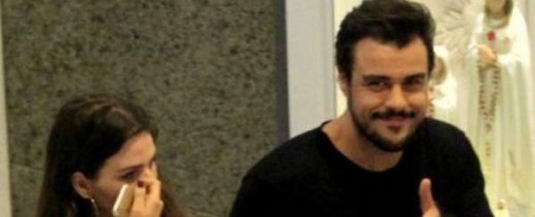 Joaquim Lopes é flagrado pela 1ª vez com a namorada no Rio; fotos