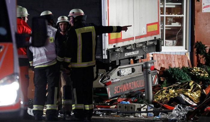 Ataque em Berlim deixou 12 mortos  (Crédito: Reuters )