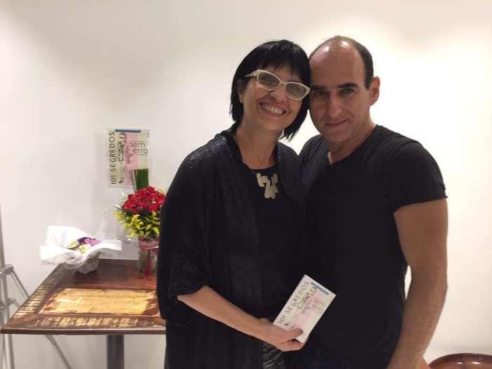 Rosângela Espinossi e Amir Slama