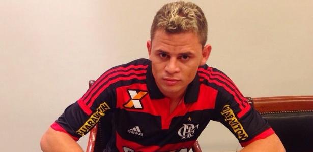Jonas pertence ao Flamengo até 2019 (Crédito: Reprodução)