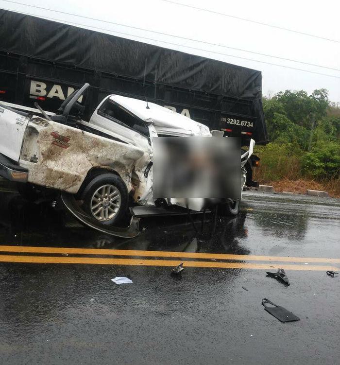 grave acidente na BR-316 próximo de caxias (Crédito: Reprodução)