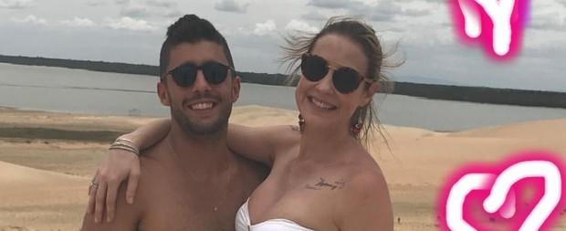 Luana Piovani e Pedro Scooby curtem férias a dois em Jericoacoara