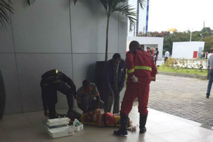 Funcionário da CEF atira contra dois colegas
