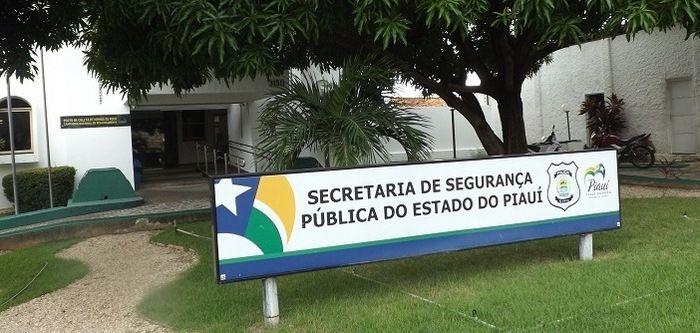 Secretaria de Segurança do Piauí (Crédito: Reprodução)
