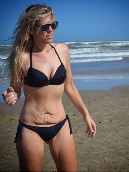 Sabrina Sgarbi perdeu 80 Kg