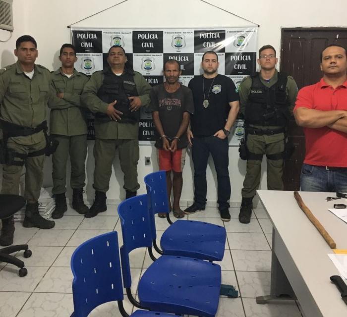 Prisão de  Ademário das Neves Mota (Crédito: Portalb1)