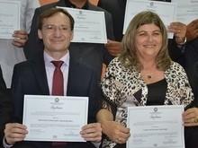 Chico Carvalho e Luiza divulga programação de posse no executivo