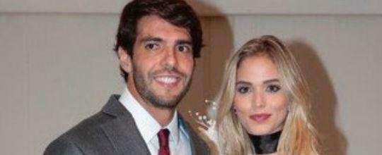 Kaká faz sua primeira aparição em público com suposta namorada