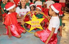 A Secretaria Municipal da Assistência Social realizou o Natal Feliz