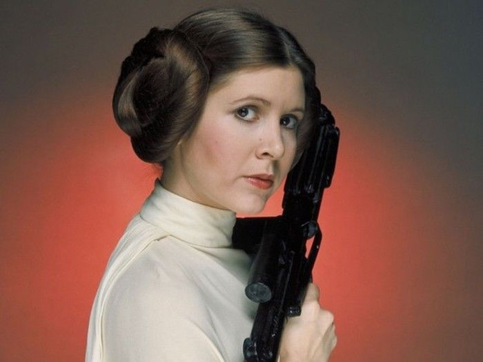 Carrie Fisher interpretou a princea leia em Star wars