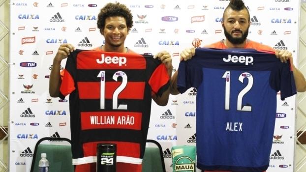 Alex Muralha e William Arão (Crédito: Reprodução)