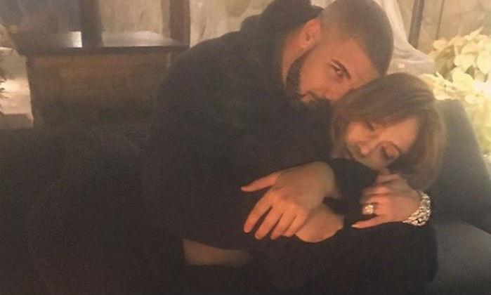 Drake e Jennifer Lopez juntos (Crédito: Reprodução)
