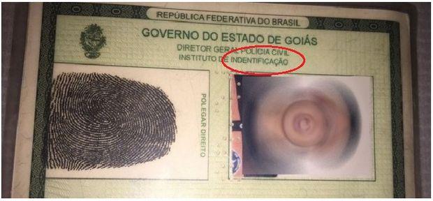 Homem é preso após usar RG com erro de português