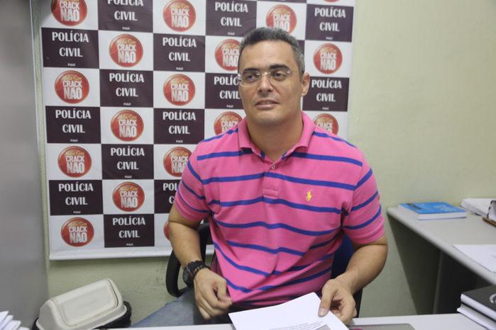 Delegado Tales Gomes (Crédito: Efrém Ribeiro)