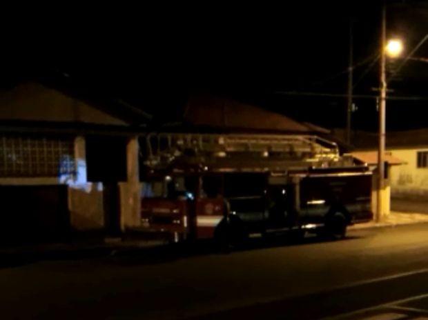 Homem furtou caminhão dos bombeiros em Agudos (Crédito: Reprodução)