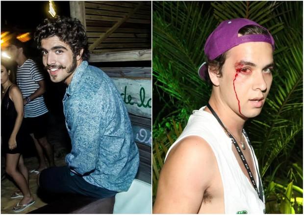 Caio Castro e André Ligeiro (Crédito: Reprodução)