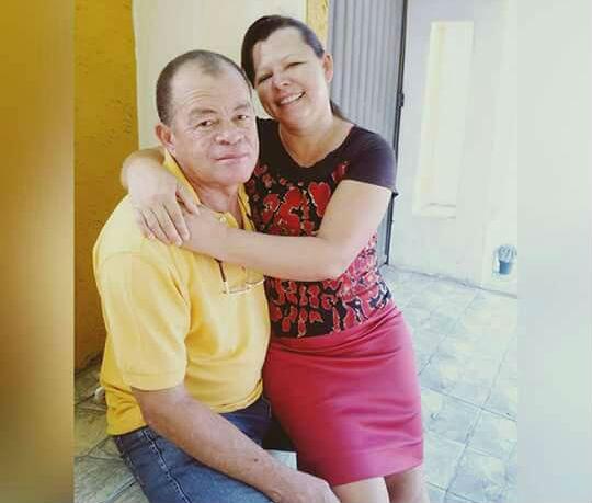 Antônio Mendes e Francisca Petronília (Crédito: Reprodução)