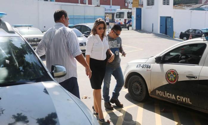 Françoise confessou participação no assassinato do marido (Crédito: O Globo)