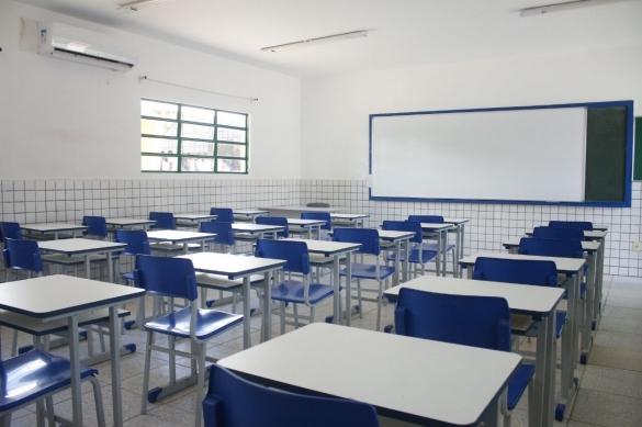 Escola de tempo integral (Crédito: Reprodução)