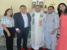 Prefeito eleito Tairo Mesquita participa de missa em Ação de Graças
