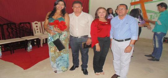 Culto abre programação de posse de prefeito eleito de Santo Inácio