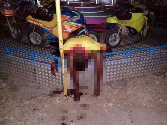 Homem morreu em um dos brinquedos do parque (Crédito: Reprodução)